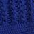 Cotton hat, 'Royal Pattern' - Hand-Crocheted Cotton Hat in Royal Blue from Peru (image 2d) thumbail