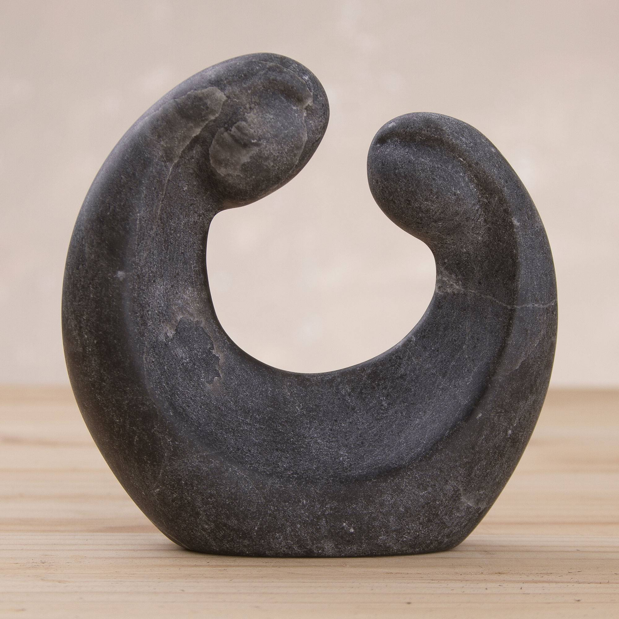 Handcrafted black alabaster sculpture of a couple in love romance jpg 2000x2000 Alabaster gifts for men