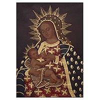 'Our Lady of Milk' - Colonial Replica of Our Lady of Milk from Peru