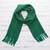 100% alpaca scarf, 'Luxe' - Unisex Woven Emerald Green Alpaca Scarf from Peru (image 2) thumbail