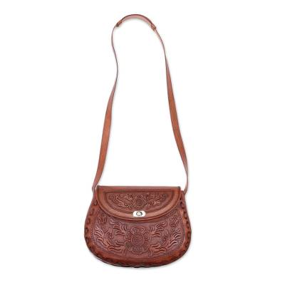 Novica Leather sling, Free Adventurer (10.5 in.)