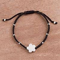 Featured review for Sterling silver pendant bracelet, Round Petals