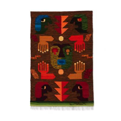 Hand Woven Wool Tapestry from Peru