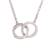 Sterling silver pendant necklace, 'Eternal Union' - Sterling Silver Pendant Necklace Crafted in Peru (image 2a) thumbail