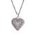 Sterling silver filigree locket necklace, 'Romantic Finesse' - Sterling Silver Filigree Heart Locket Necklace from Peru (image 2a) thumbail