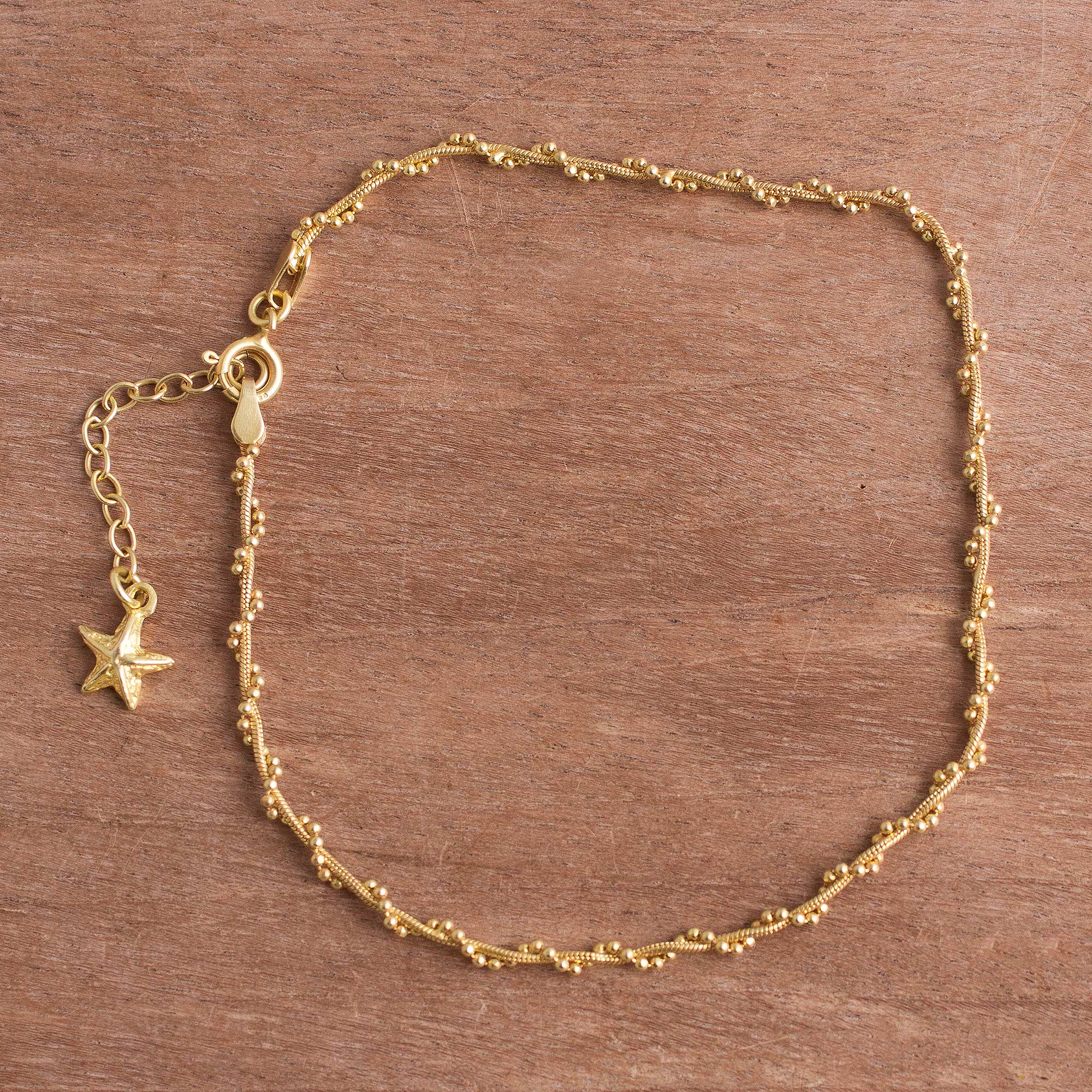 star anklet women for gal womens nasty choker caymancode anklets getaway gold
