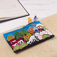 Featured review for Appliqué pencil case, Ñoka Kuyayki