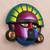 Ceramic mask, 'Cultural Tumi' - Handcrafted Ceramic Tumi Mask from Peru (image 2b) thumbail