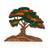 Wood sculpture, 'Autumn Tree' - Wood Sculpture of a Tree in Autumn from Peru (image 2a) thumbail
