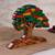 Wood sculpture, 'Autumn Tree' - Wood Sculpture of a Tree in Autumn from Peru (image 2b) thumbail