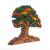 Wood sculpture, 'Autumn Tree' - Wood Sculpture of a Tree in Autumn from Peru (image 2d) thumbail