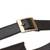 Leather waist bag, 'Experience in Black' - Handmade Leather Waist Bag in Black from Peru (image 2g) thumbail