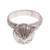 Sterling silver cocktail ring, 'Mythic Onion' - Sterling Silver Onion Cocktail Ring from Peru (image 2a) thumbail
