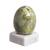 Serpentine gemstone figurine, 'Cute Egg' - Egg-Shaped Serpentine Gemstone Figurine from Peru (image 2a) thumbail