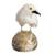 Onyx and calcite gemstone sculpture, 'White Bird' - White Onyx and Calcite Gemstone Bird Sculpture from Peru (image 2a) thumbail