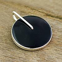 Obsidian pendant, 'Midnight Marvel'