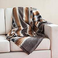 100% alpaca throw, 'Mountain Comfort'