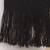 Alpaca blend scarf, 'Simplicity' - Black Alpaca Blend Scarf with Umber Stripes from Peru (image 2e) thumbail