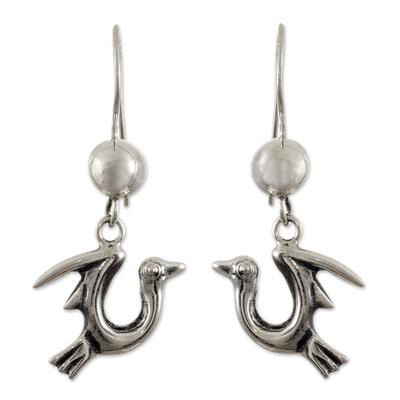 Bird Dangle Earrings from Peru