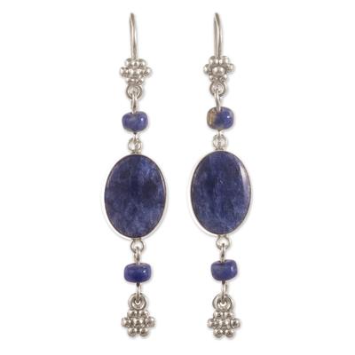 Artisan Crafted Sodalite Earrings