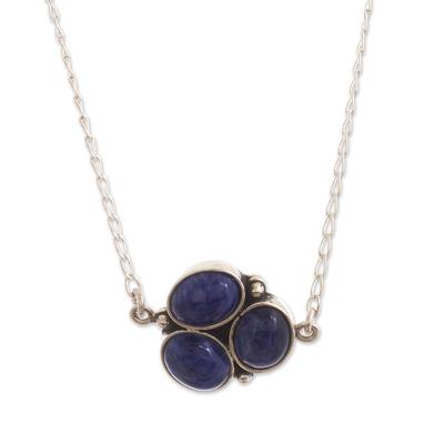 Natural Sodalite Pendant Necklace