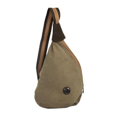 Convertible Canvas Shoulder Bag/Backpack