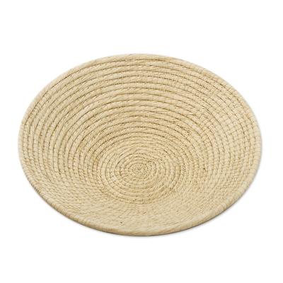 Eco Friendly Natural Fiber Decorative Basket from Peru