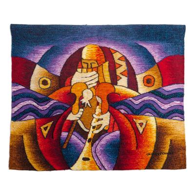 Alpaca Wool Tapestry from Peru