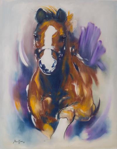 Original Horse Oil Painting