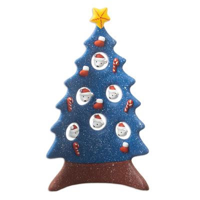 Handmade Ceramic Christmas Tree Sculpture