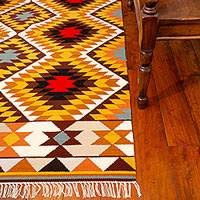 Featured review for Wool rug, Star (4.5x6.5)