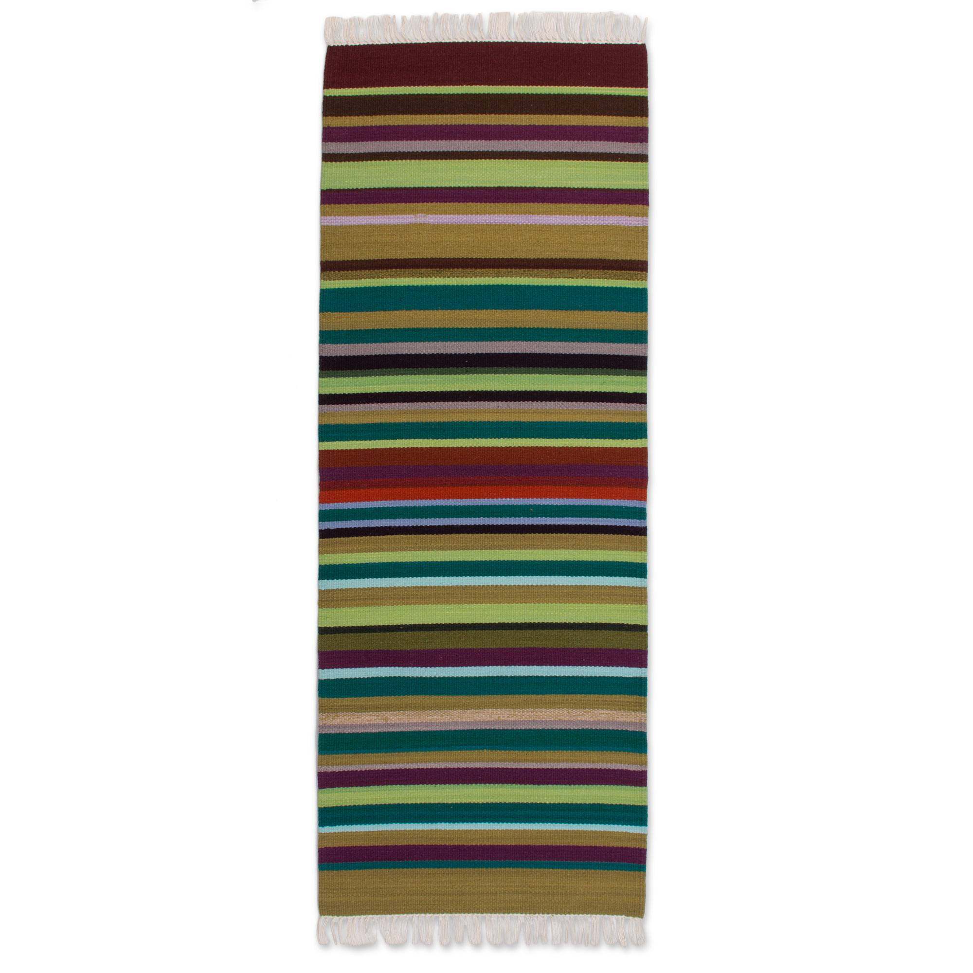 Unicef Uk Market Wool Rug 2x5 Earth In Balance