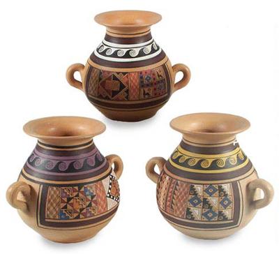Decorative Handmade Vases on handmade pottery, handmade bangles, handmade pet bowls, handmade plaques, handmade toys, handmade wallets, handmade glass bowls, handmade baskets, handmade boxes, handmade games, handmade pendants, handmade tiles, handmade jewelry, handmade tea bowls,