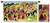 Wool tapestry, 'Sarhua Festival' - Wool tapestry thumbail
