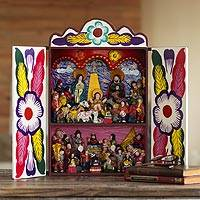 Retablo, 'Chapel of Huamanga'