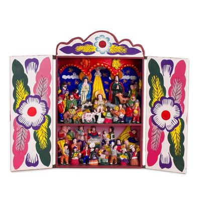 Retablo, 'Chapel of Huamanga' - Retablo