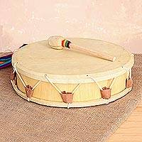 Wood drum, 'Tinya'