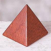 Jasper pyramid, 'Dreams' (medium) - Handcrafted Jasper Pyramid Sculpture (Medium)