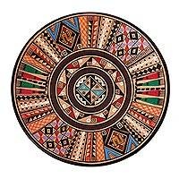 Cuzco plate, 'Inca Star' - Cuzco Ceramic Decorative Plate