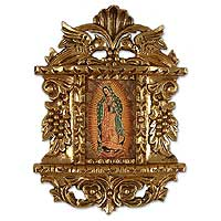 'Mary Guadalupe' - Our Lady of Guadalupe Framed Painting