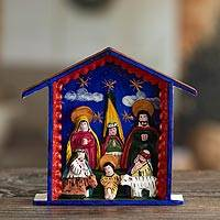 Nativity scene, 'Blessed Are Those Who Come' - Nativity scene