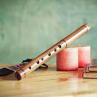 Wood quena flute, 'Jacaranda'