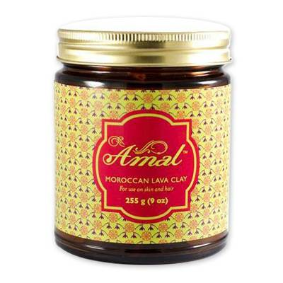 Amal Moroccan Lava Clay - Amal Moroccan Lava Clay For Skin Cleansing
