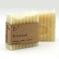 B3 Botanical Lavender Rosemary and Mint Shampoo Bar (Set of 2) - Vegan Shampoo Bar with Lavender and Mint (Set of 2)