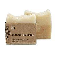 Mornin' Sunshine Soap (Set of 2) - Non-Toxic Bar Soap with Lemon and Rosemary (Set of 2)