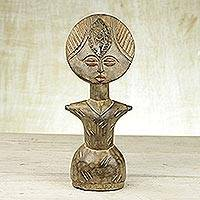 Wood fertility doll, 'Teenager' - Wood fertility doll