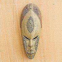 Hausa wood mask, 'Sympathy'