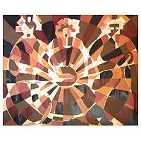 'Trade Ministry' - Cubist Painting