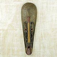 Gabonese wood mask, 'Fang Harvest Spirit' - Gabonese wood mask