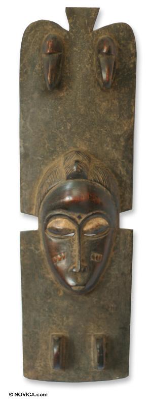 Ivory Coast Wood Mask
